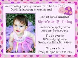 3 Perfect Ideas To Create 1st Birthday Invitation Wording Marialonghi Com