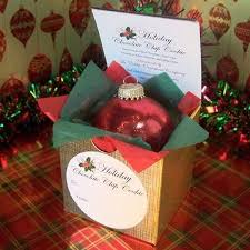 individual ornament gift boxes individual gift box the edible ornament company