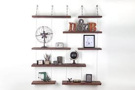 How To Decorate Floating Shelves Decorating Outstanding Turnbuckle Shelves Storage Design With