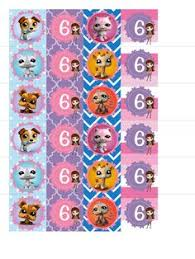 littlest pet shop theme custom printables by vivaprintcelebrate