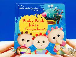 tombliboos pinky ponk juice long story book