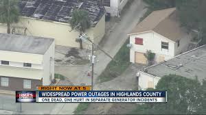 Power Outage Map Florida by Widespread Power Outages In Highlands Co Youtube