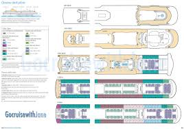 Cruise Ship Floor Plans by P U0026o Cruises 2012 2013 Deck Plans