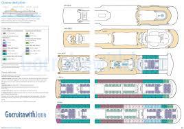 p u0026o cruises 2012 2013 deck plans