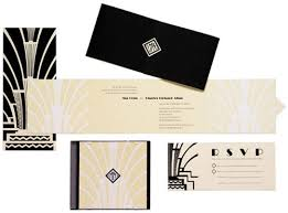 art deco wedding invitations the wedding specialiststhe wedding