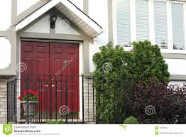 Front Door Colors For Brick House by Amazing Red Front Door Brown House With Front Door Color And