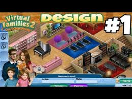 house design virtual families 2 virtual families 2 house design 1 first house youtube