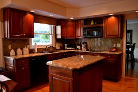 Golden Oak Kitchen Cabinets by Tag For Kitchen Color Ideas With Dark Oak Cabinets Nanilumi