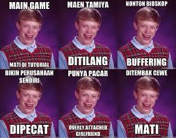 Blb Meme - meme bad luck brian adalah straight