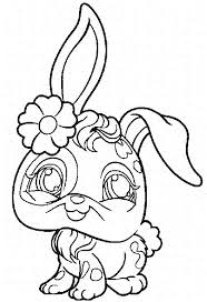 littlest pet shop coloring pages bunny coloringstar