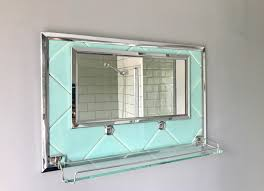 Vintage Bathroom Mirrors by Vintage Retro Bathroom Mirror With Shelf 344 Vinterior