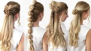 Frisuren Lange Haare Schnell by 4 Frisuren Mit Effekt Einfach Schnell Thebeauty2go
