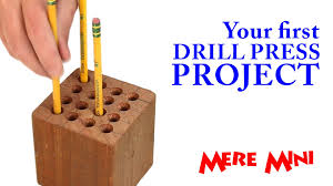 wooden pencil holder plans mere minis woodworking for mere mortals