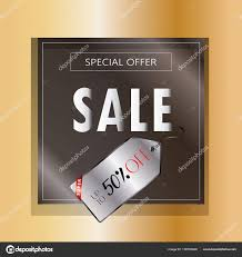 s day sales seasonal sale banner gold frame price tag