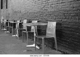 empty chairs tables sidewalk cafe arrangement stock photos u0026 empty