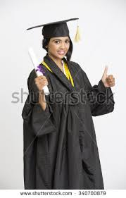 college graduation gown indian girl college graduate wearing cap stock photo 336540887