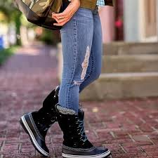 s knit boots canada best 25 sorel boots ideas on sorel boots
