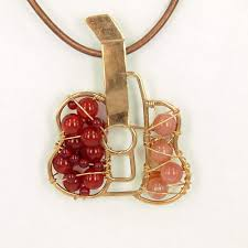 guitar necklace pendants images Cubist guitar pendant jpg