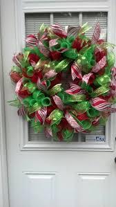 373 best mesh wreaths images on deco mesh