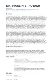 Resume Samples For Professors by Assistant Clinical Professor Resume Samples Visualcv Resume