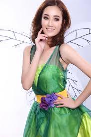flower fairy cosplay show forest green elf halloween costume