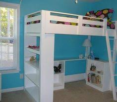 Loft Bed Plans Free Queen by How To Design And Build The Lumberjack Bedroom Bunk Beds Free