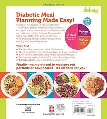 diabetic breakfast meals diabetic living diabetes meals by the plate 90 low carb meals to