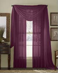 Jc Penny Home Decor Valance With Sheer Curtains For Elegant Interior Home Decor