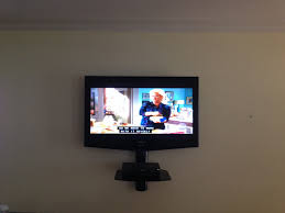 Altus Plus Floating Tv Stand Tv Mount Installation With Floating Glass Shelf Charlotte Home