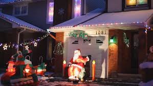 Christmas Decorations Video Lights by Christmas Lights Stock Footage Video Shutterstock