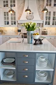 gray kitchen island paint color