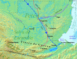 Spanish Map Of South America by