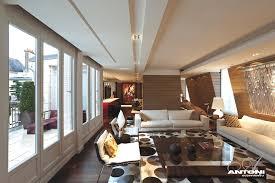 Penthouse Interior Magnificent Luxury Penthouse Apartment In Paris Architecture