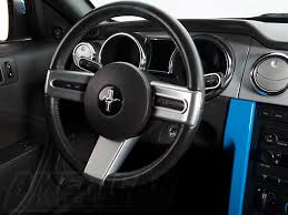 mustang steering wheels modern billet mustang satin steering wheel spoke badge 41191 05