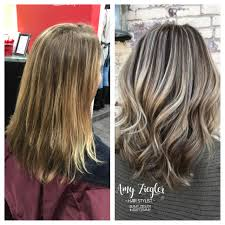 ash blonde highlight lowlight transformation by askforamy