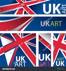 abstract uk flag united kingdom flag stock vector 621412562