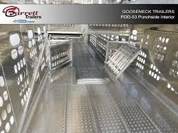 Interior Dimensions Of A 53 Trailer Aluminum Semi Trailers For Sale Livestock Trailer Configurations