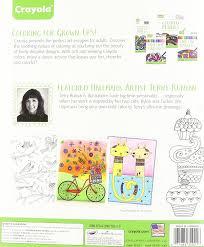 amazon com crayola whimsical escapes coloring book