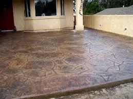 Flagstone Patio On Concrete by Stone Patterns Decorative Concrete San Luis Obispo Ca