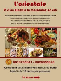 cuisine domicile traiteur à domicile cuisine marocaine magasin vente