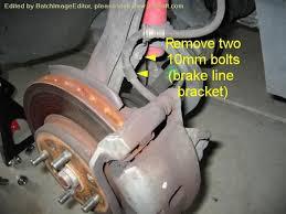 2003 honda civic brake pads diy 6th civic brake pad and rotor change