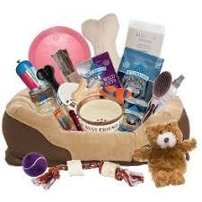 dog gift baskets the forever faithful dog gift basket deluxe