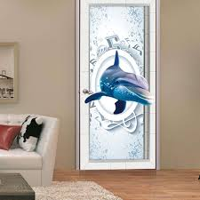 dolphin home decor stickers home decor picture more detailed picture about 77cm