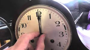 Beautiful Clocks by A Look At A Beautiful Dual Chime German Mantle Clock Youtube