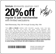 lord and taylor black friday coupons lord and taylor