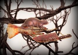 rat jewelry halloween pin zombie pin pet rat bloody knife