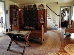 Country Primitive Rugs 229 Best Braided Rugs Images On Pinterest Braids Wool Rugs And