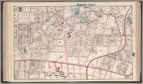 Map Of Jersey City Jersey City Plate P David Rumsey Historical Map Collection
