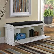 Storage Bench Chair Diy Custom White Storage Bench Furniture Home Inspirations Design