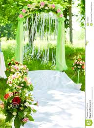 wedding ceremony arch decoration stock image image 34983551